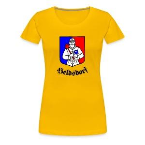 Heldsdorf  in Siebenbürgen - Transylvania, Erdely, Ardeal - Frauen Premium T-Shirt