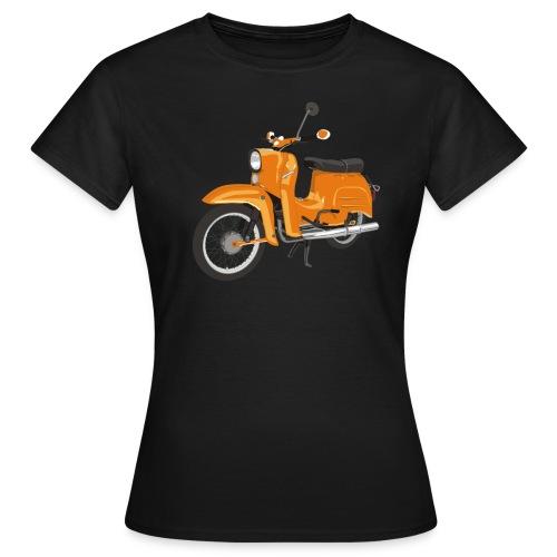 Orangene Schwalbe - Frauen T-Shirt