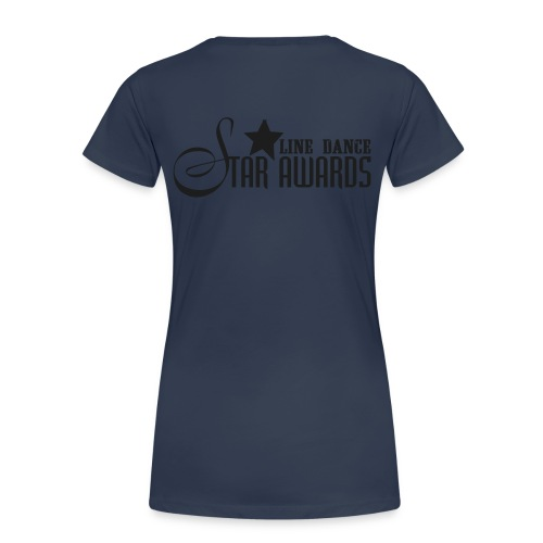 Da.-Shirt Ü-Größen Silver Sparkle - Frauen Premium T-Shirt