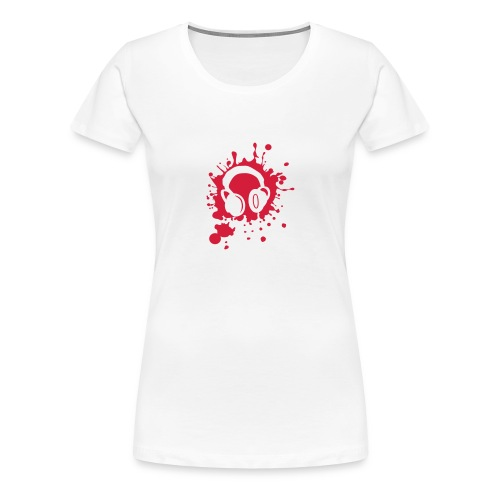Headphones - Frauen Premium T-Shirt