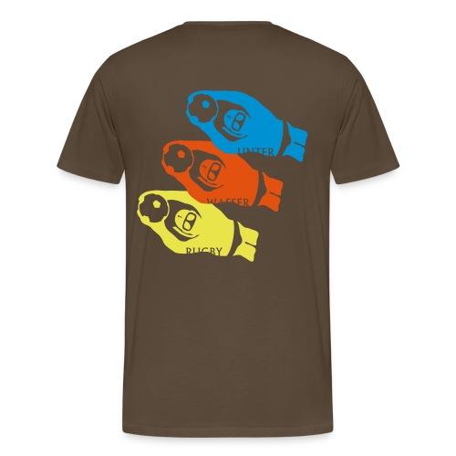 3 UWR Spieler [Herren, classic] - Männer Premium T-Shirt