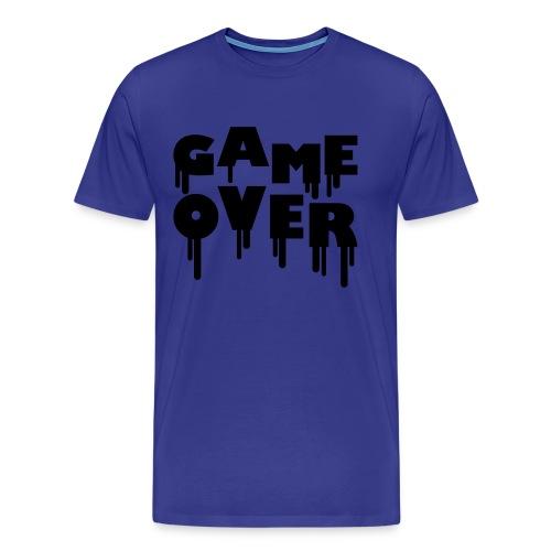 GameOver Tshirt Mens - Men's Premium T-Shirt