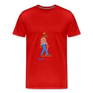 Were Wally? - Men's Premium T-Shirt