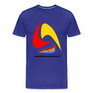 Tee shirts ~ Tee shirt Premium Homme ~ Futura-Sciences homme bleu ciel