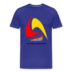 Futura-Sciences homme bleu ciel - T-shirt Premium Homme