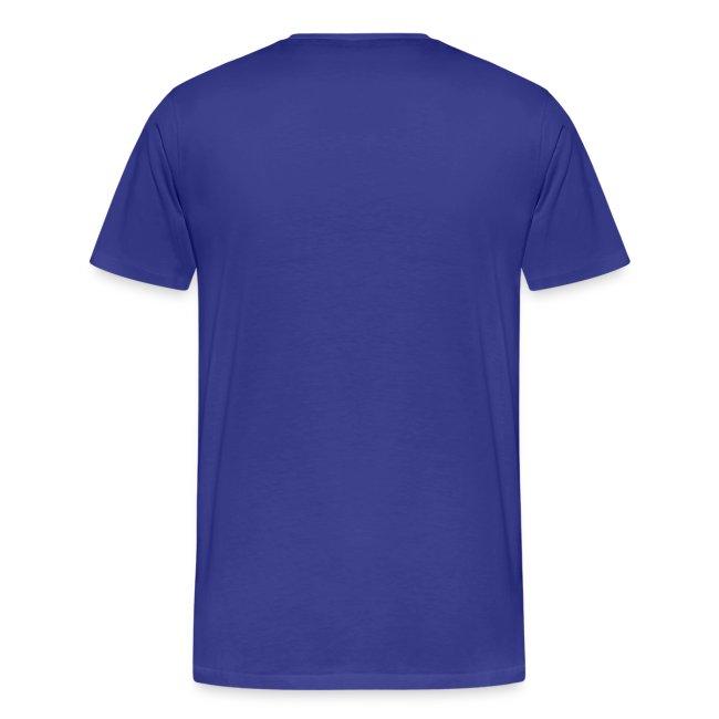 Evolutie heren t-shirt met opdruk