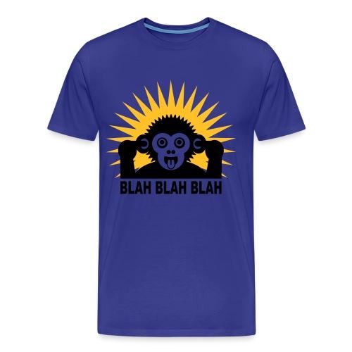 October - Why not? (MONKEY!!!!!!) - Men's Premium T-Shirt