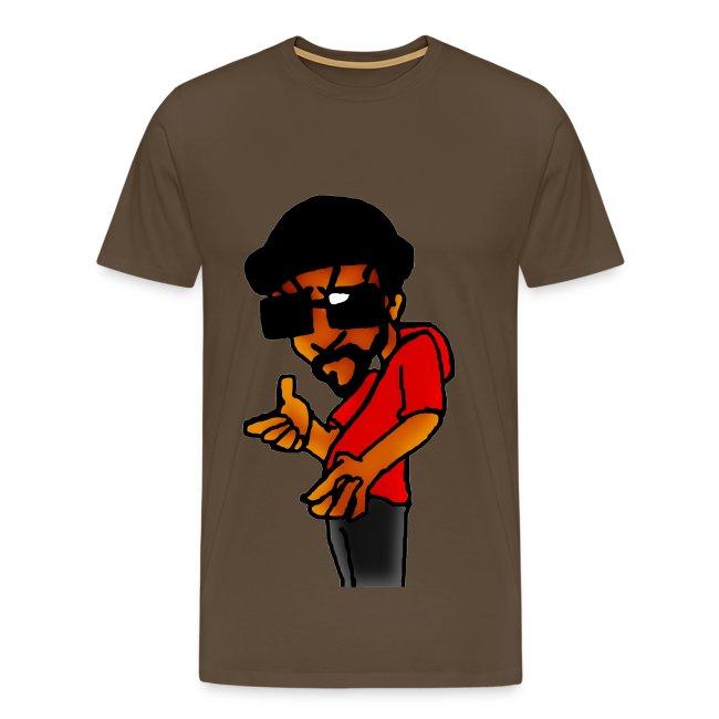 T shirt homme rappeur
