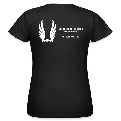 Winged Hope girls tee [Glow In The Dark] - Women's T-Shirt