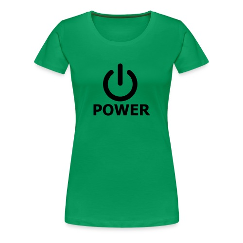Power - Camiseta premium mujer