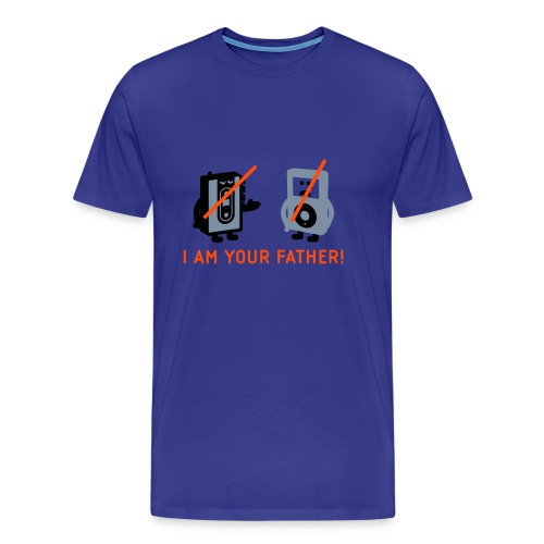 DARTH VADER VS POD - Männer T-Shirt - Männer Premium T-Shirt