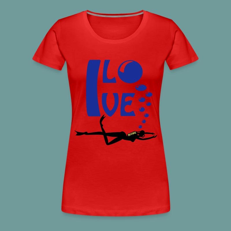 TSFILD 01 - T-shirt Premium Femme