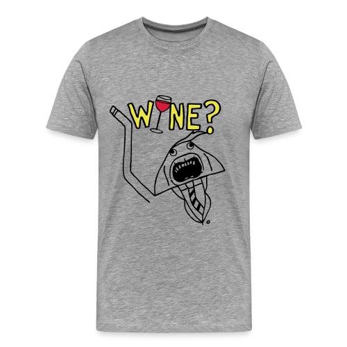 WINE? (Gentleman's t-shirt) - Men's Premium T-Shirt