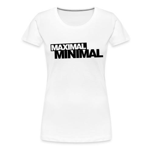 Minimal Girlie-Shirt - Frauen Premium T-Shirt