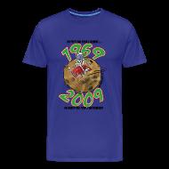 Tee shirts ~ T-shirt Premium Homme ~ Conquëte espace homme bleu ciel