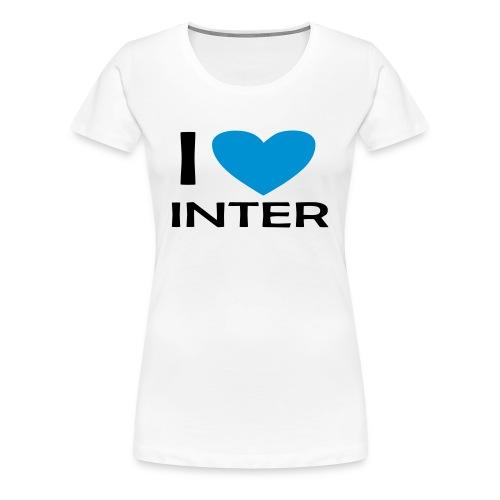 I LOVE INTER FOREVER - Maglietta Premium da donna