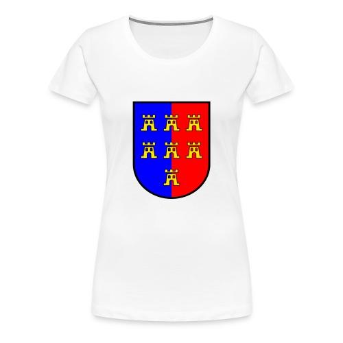 Weiß Wappen VG Siebenbürger Sachsen T-Shirts - Frauen Premium T-Shirt