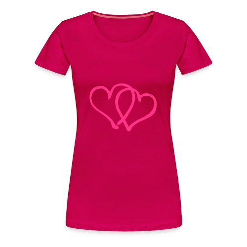 | Love Love - Frauen Premium T-Shirt