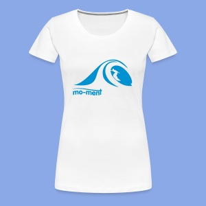Surfing in tube - Frauen Premium T-Shirt