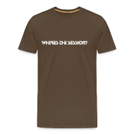T-Shirts ~ Men's Premium T-Shirt ~ Wheres the session?