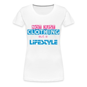 Tshirt|Not Just Clothing| Lady Bianca - Maglietta Premium da donna