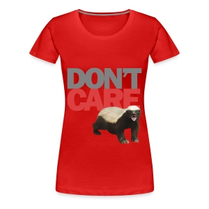 Honey Badger - Frauen Premium T-Shirt