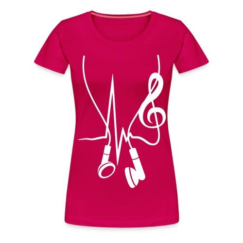 Crazy T- Shirt  - Frauen Premium T-Shirt