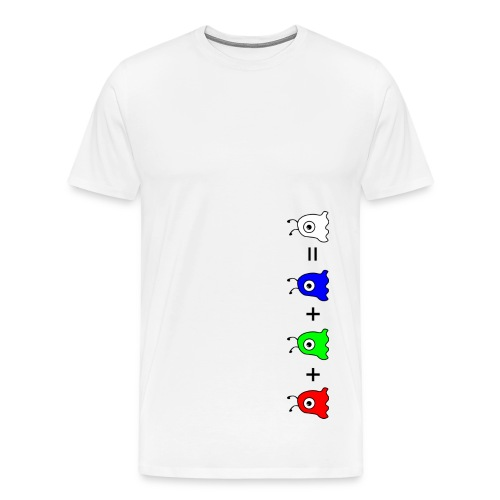Alien RGB=Geist - Männer Premium T-Shirt