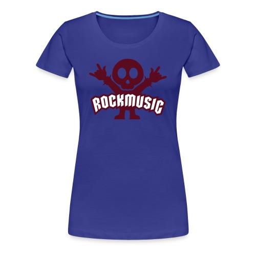 Rockmusic - Frauen Premium T-Shirt
