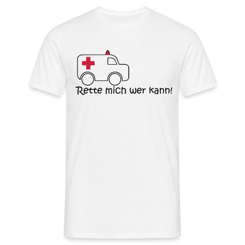 Rette mich - Männer T-Shirt