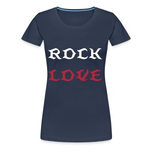 ROCK LOVE - Women's Premium T-Shirt