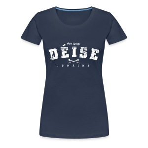 Vintage Waterford Deise Hurling T-Shirt - Women's Premium T-Shirt
