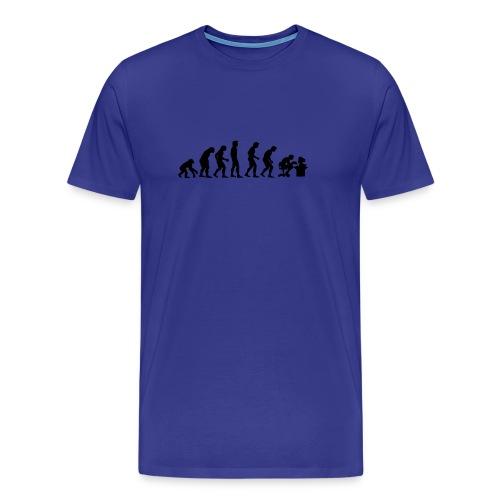 Evolution of the Gamer - Men's Premium T-Shirt