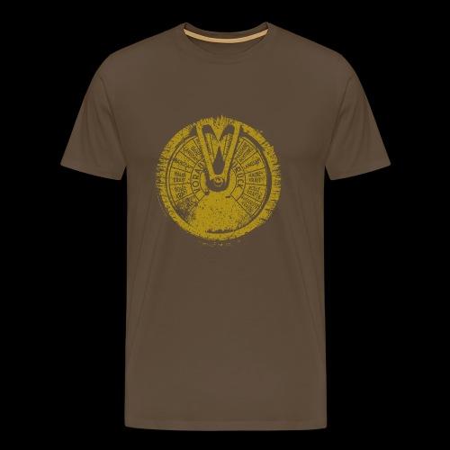 Maschinentelegraph (brass oldstyle) - Männer Premium T-Shirt