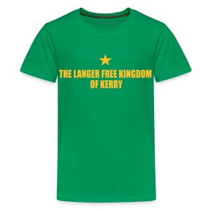 Langer Free Kingdom of Kerry T-Shirt - Teenage Premium T-Shirt