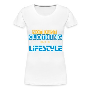 Tshirt|Not Just Clothing| Lady White - Maglietta Premium da donna