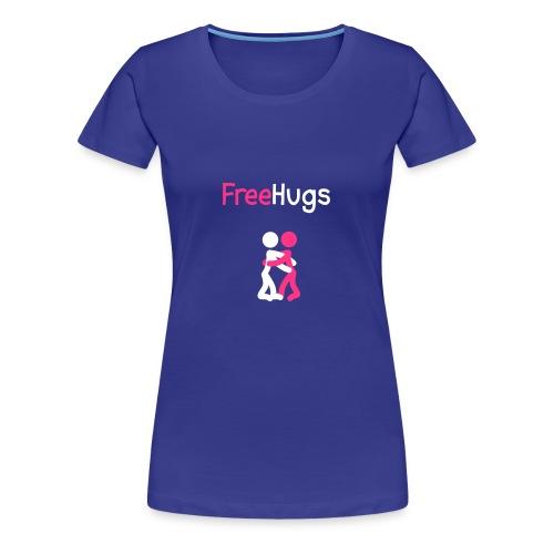 Free Hugs - T-shirt Premium Femme
