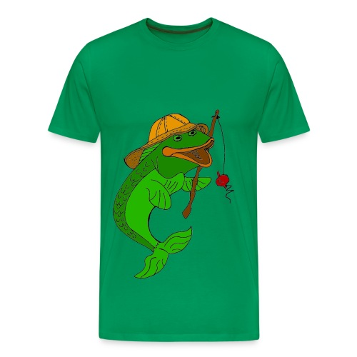 T shirt homme poisson - T-shirt Premium Homme