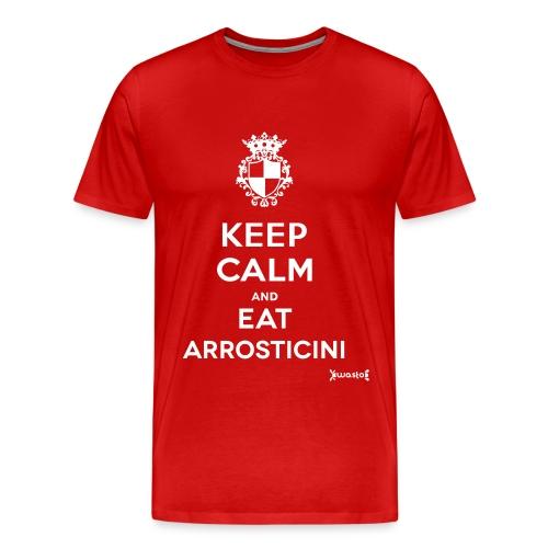 Maglietta Uomo Eat Arrositicini - Maglietta Premium da uomo
