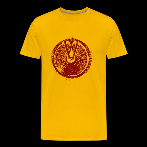 Maschinentelegraph (red oldstyle) - Männer Premium T-Shirt