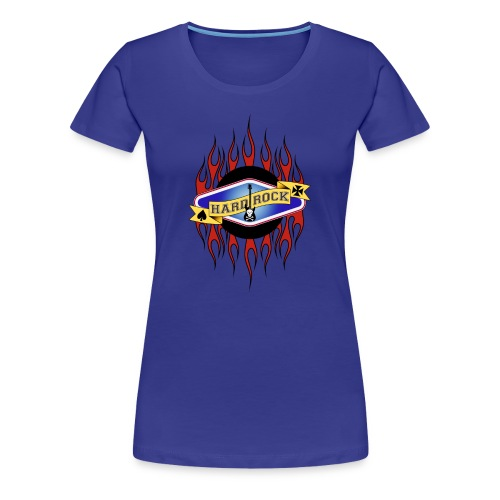 Hard Rock - Frauen Premium T-Shirt