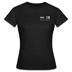 Women's T-Shirt HEL FINLAND white-lettered - Women's T-Shirt