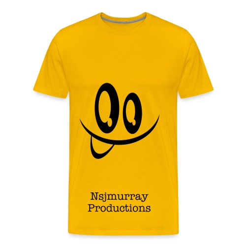 Nsjmurray Productions SMILE! - Men's Premium T-Shirt