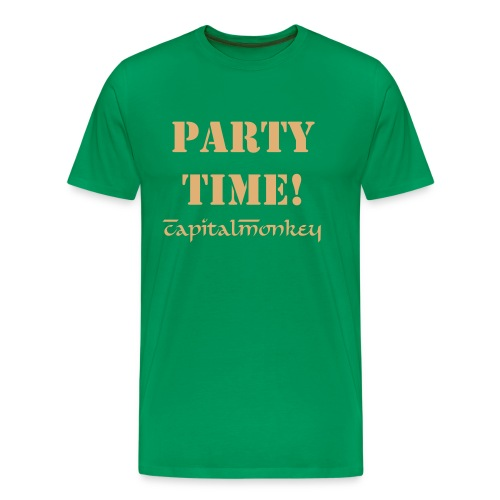 Men's Premium T-Shirt - t-shirt,party,men,cm,capitalmonkey