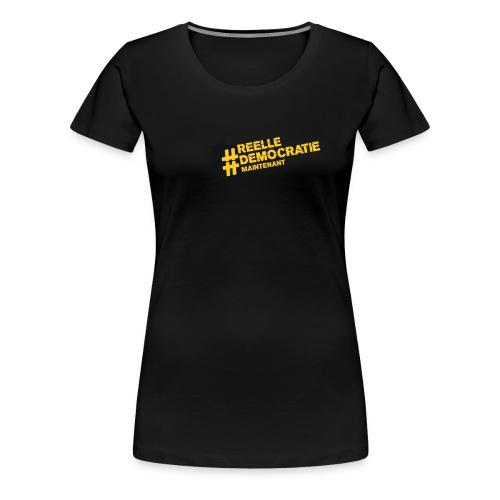 Tee-shirt femme REELLE DEMOCRATIE MAINTENANT  - T-shirt Premium Femme