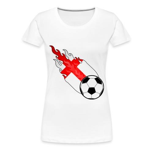 Womens Football T-Shirt - Women's Premium T-Shirt