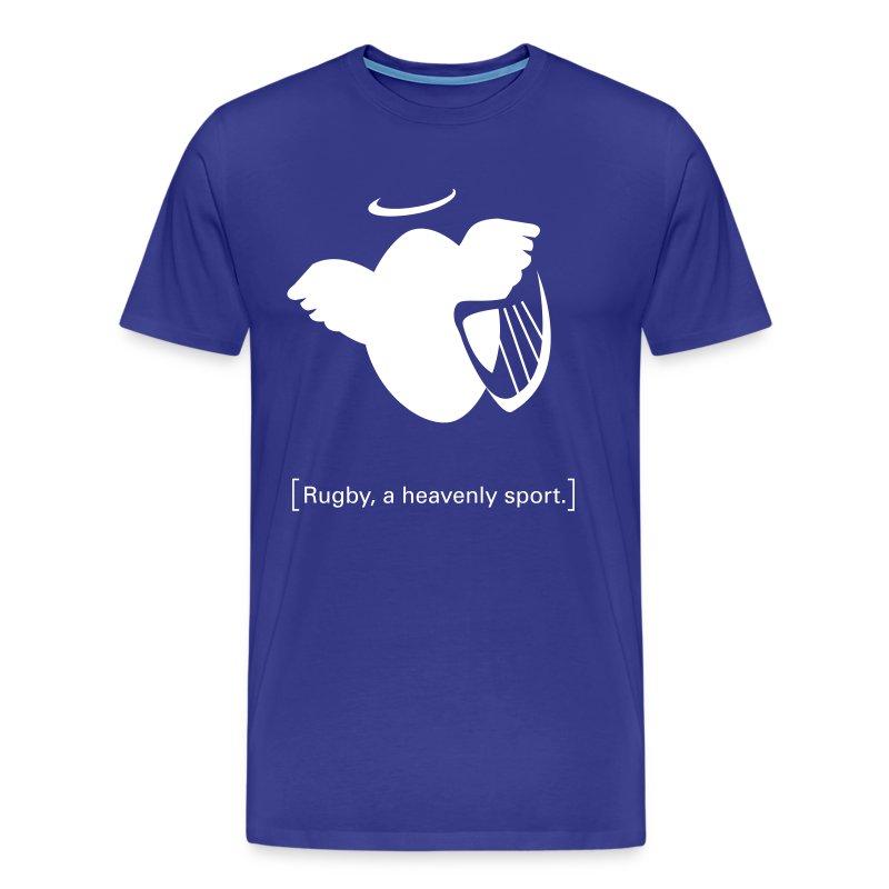 Männer T-Shirt Motiv: A heavenly sport. - Männer Premium T-Shirt