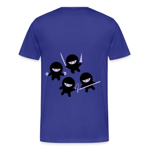 Ninja Babies Got My Back - Men's Premium T-Shirt