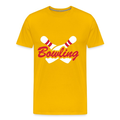 T-Shirt Bowling - T-shirt Premium Homme