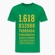 Golden Ratio Number - PHI - Golden Section T-Shirts